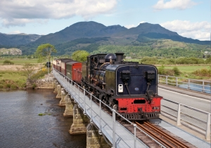 Pont Croesor  (Picture by Ffestiniog Railway Company)