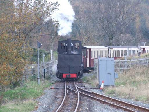 K1 arriving at Rhyd Ddu - 27th November 2007